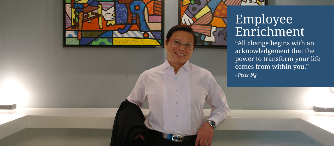 Employee Enrichment - Peter Ng Training Consultancy